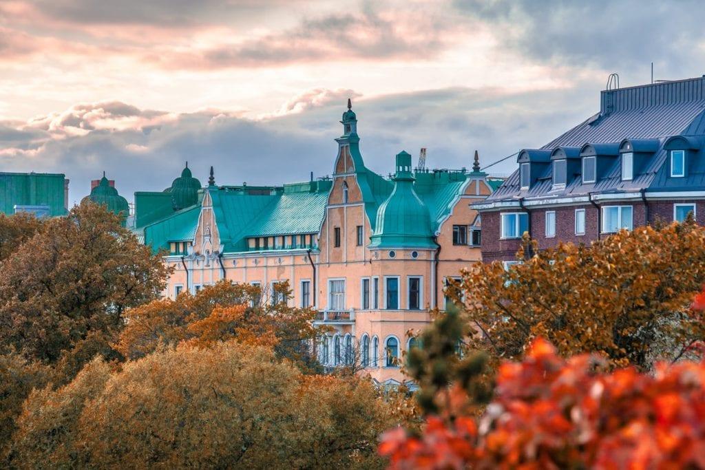 Kuva Helsingista, kuvituskuva Asianajotoimisto Torato Juridik.
